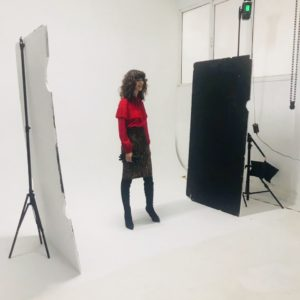 Backstage Photoshoot for Christmas 2018-19
