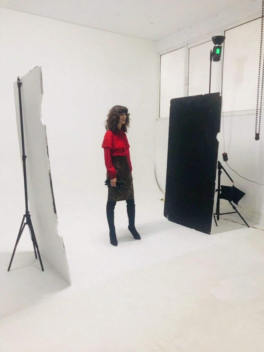 Backstage Photoshoot for Christmas 2018-19